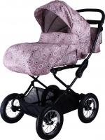 Детская универсальная коляска Babyhit Evenly Light (Chocolate Flower) -