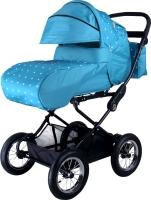 Детская универсальная коляска Babyhit Evenly Light (голубые звезды) -