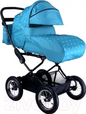 Детская универсальная коляска Babyhit Evenly Light (голубые звезды)