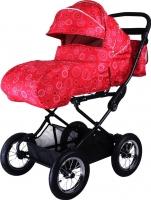 Детская универсальная коляска Babyhit Evenly Light (Red Flower) -