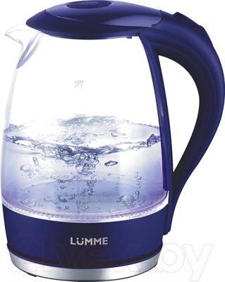 Электрочайник Lumme LU-216 (синий сапфир)