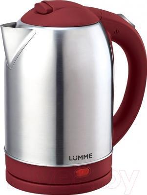 Электрочайник Lumme LU-219 (красный гранат)