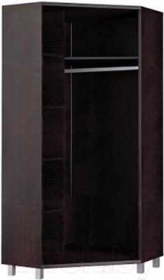 Шкаф Мебель-Неман Домино Венге ВК-04-14 (береза/венге) - внутреннее пространство