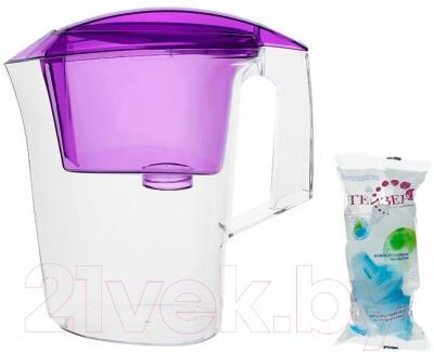 Фильтр питьевой воды Гейзер Дельфин (сирень)