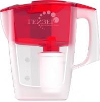 Фильтр питьевой воды Гейзер Альфа (красный, + дополнительный модуль) -