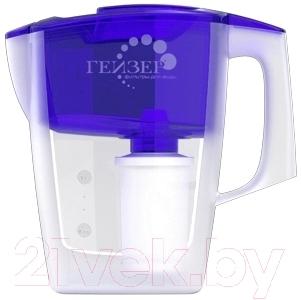 Фильтр питьевой воды Гейзер Альфа (синий, с дополнительным модулем)
