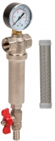 Магистральный фильтр Aquafilter FHMB34-X 3/4 (осад. сетка 80) -