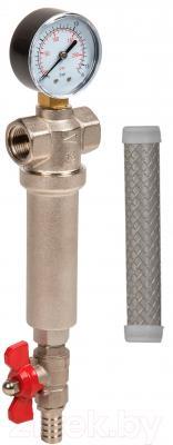 Магистральный фильтр Aquafilter FHMB34-X 3/4 (осад. сетка 80)