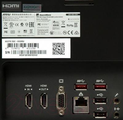 Моноблок MSI AG270 (2QC-216RU)