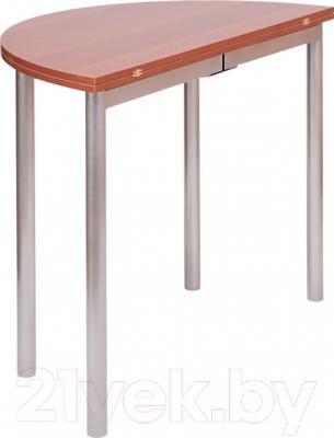 Обеденный стол Древпром М2 90х50 (грондталь) - в сложенном виде