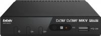 Тюнер цифрового телевидения BBK SMP019HDT2 (темно-серый) -