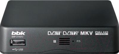 Тюнер цифрового телевидения BBK SMP131HDT2 (темно-серый)