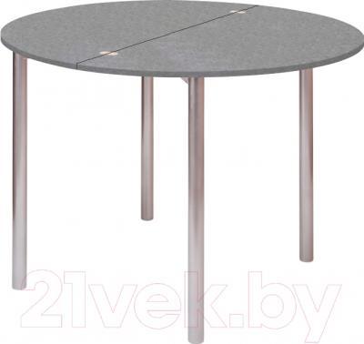 Обеденный стол Древпром М2 90х50 (металлик)