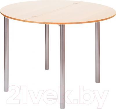 Обеденный стол Древпром М2 90х50 (ясень)