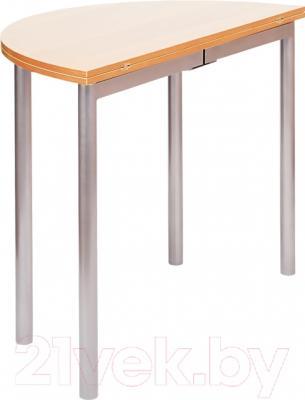 Обеденный стол Древпром М2 90х50 (ясень) - в сложенном виде