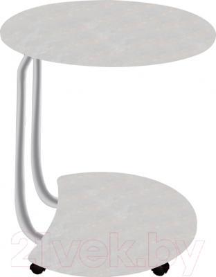 Сервировочный столик Древпром Придиванный (металлик/синга шампань)