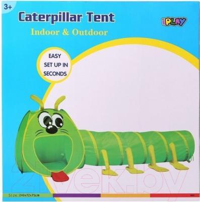 Детская игровая палатка IPlay Гусеница 8603