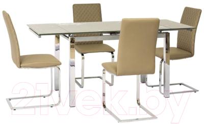 Обеденный стол Signal GD020 (темно-бежевый)