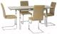 Обеденный стол Signal GD020 (темно-бежевый) -