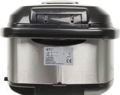 Мультиварка Sinbo SCO-5040 (серебристый/черный) - вид сзади