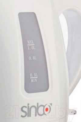 Электрочайник Sinbo SK-2359 (белый)