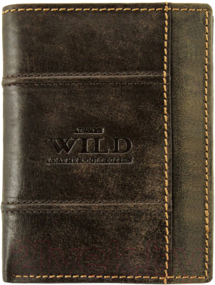 Портмоне Cedar Always Wild N4-DIS (коричневый)