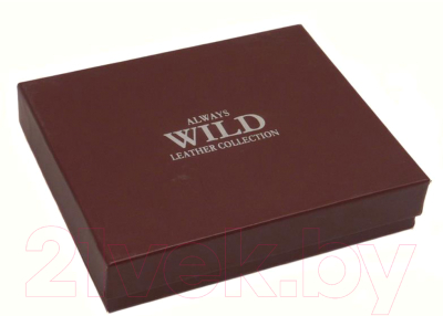 Портмоне Cedar Always Wild N4-MCR (черный)