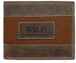 Портмоне Cedar Always Wild N992-JEANS (коричневый)