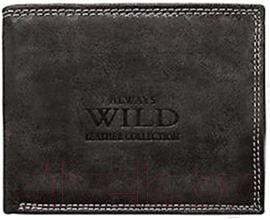 Портмоне Cedar Always Wild N992-MCR (черный)