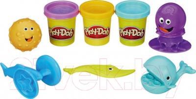 Набор для лепки Hasbro Play-Doh Подводный мир B1378