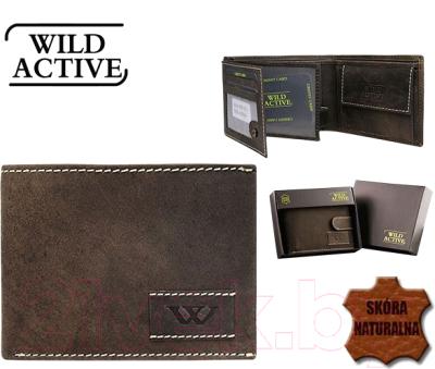 Портмоне Cedar Wild Activ N992-WA2 FK (темно-коричневый)