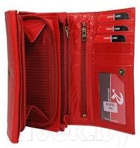 Портмоне Cedar Ronaldo RD-10-CFL (красный)