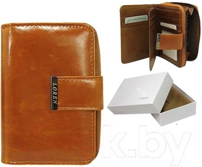 Портмоне Cedar Loren WP03 FK Box (бежевый)