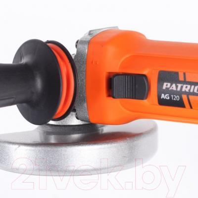 Угловая шлифовальная машина PATRIOT AG 120