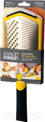 Терка кухонная Joseph Joseph Twist Grater Star Extra Fine 20034 (желтый)