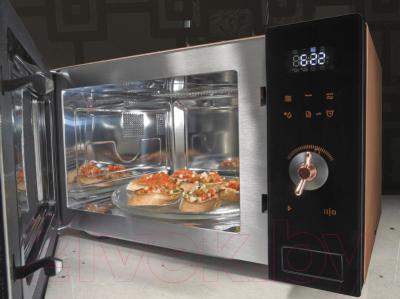 Микроволновая печь Gorenje MO25INB - с открытой дверцей
