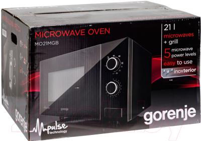 Микроволновая печь Gorenje M021MGB - коробка