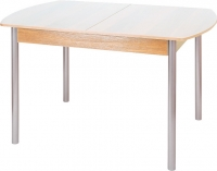 Обеденный стол Древпром М3 120х78 (металлик/ясень) -
