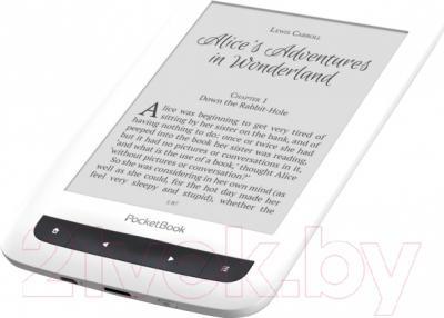 Электронная книга PocketBook Touch Lux 3 626 / PB626(2)-D-CIS (белый)