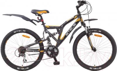 Велосипед Stels Challenger V 2015 24 (серый/черный/оранжевый)