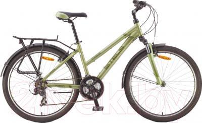 Велосипед Stels Miss 7000 V 2016 (18, зеленый/темно-зеленый)