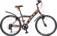 Велосипед Stels Navigator 410 V 2016 (серый/оранжевый/черный) -