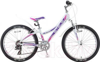 Велосипед Stels Navigator 430 V 2016 (фиолетовый/розовый)