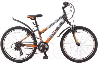 Велосипед Stels Navigator 450 V 2016 (оранжевый/черный)