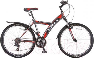 Велосипед Stels Navigator 550 V 2016 (серый/черный/красный)