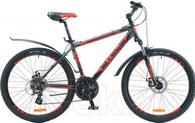 Велосипед Stels Navigator 630 MD 2016 (17, белый/черный/красный)