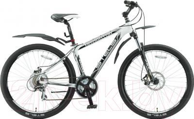 Велосипед Stels Navigator 650 MD 2016 27.5 (17, белый/серый)