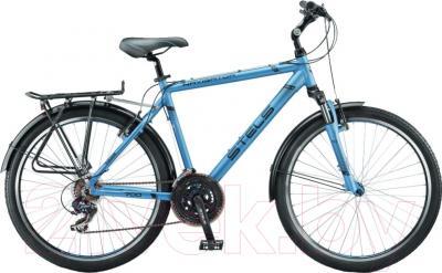 Велосипед Stels Navigator 700 V 2016 (19, синий металлик/черный)