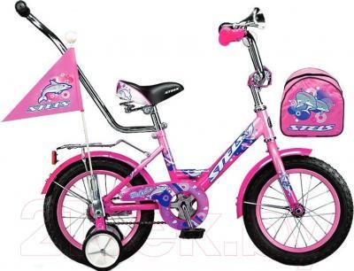 Детский велосипед Stels Dolphin 2015 (14, розовый)
