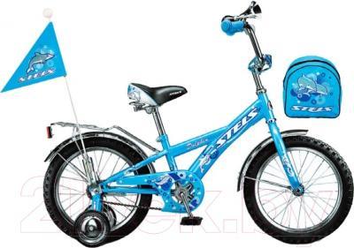 Детский велосипед Stels Dolphin 2016 (16, голубой)